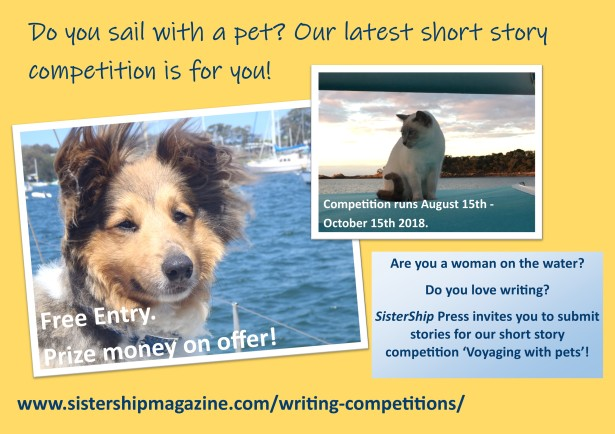 SisterShip short story competition pets
