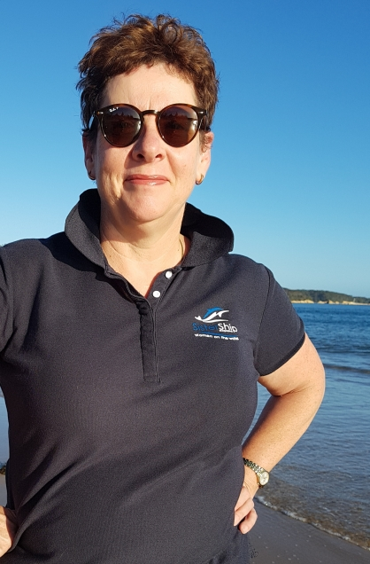 Belinda can often be found doing something on the water at Batemans Bay in NSW, Australia
